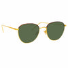 Linda Farrow Raif C19 Square Sunglasses