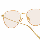 Linda Farrow 819 C22 Square Sunglasses