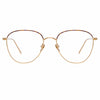 Linda Farrow Raif C26 Square Optical Frame