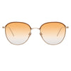 Linda Farrow 819 C7 Square Sunglasses