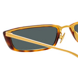 Linda Farrow 838 C3 Rectangular Sunglasses