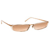 Linda Farrow 838 C4 Rectangular Sunglasses