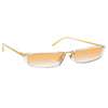 Linda Farrow Issa C6 Rectangular Sunglasses