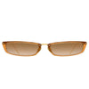 Linda Farrow Issa C7 Rectangular Sunglasses