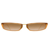 Linda Farrow 838 C7 Rectangular Sunglasses