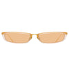 Linda Farrow 838 C8 Rectangular Sunglasses