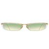 Linda Farrow 838 C9 Rectangular Sunglasses