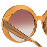 Linda Farrow Leighton C4 Oversized Sunglasses