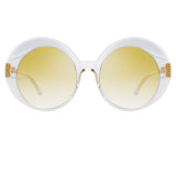 Linda Farrow Leighton C5 Oversized Sunglasses