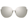 Linda Farrow Kennedy C2 Oversized Sunglasses