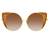 Linda Farrow 854 C2 Cat Eye Sunglasses