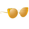Linda Farrow 854 C4 Cat Eye Sunglasses