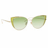 Linda Farrow Des Vouex C10 Cat Eye Sunglasses