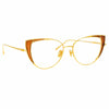 Linda Farrow 855 C12 Cat Eye Optical Frame