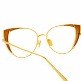 Linda Farrow Des Vouex C12 Cat Eye Optical Frame