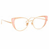 Linda Farrow Des Vouex C13 Cat Eye Optical Frame