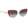 Linda Farrow 855 C5 Cat Eye Sunglasses
