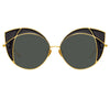 Linda Farrow 856 C1 Cat Eye Sunglasses
