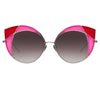 Linda Farrow 856 C5 Cat Eye Sunglasses