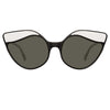 Linda Farrow Ash C1 Cat Eye Sunglasses