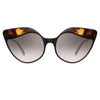 Linda Farrow Ash C3 Cat Eye Sunglasses
