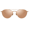 Linda Farrow 876 C3 Aviator Sunglasses