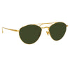 Linda Farrow 876 C4 Aviator Sunglasses