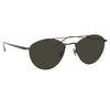 Linda Farrow 876 C6 Aviator Sunglasses