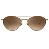 Linda Farrow Caine C7 Aviator Sunglasses
