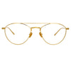 Linda Farrow 876 C8 Aviator Optical Frame