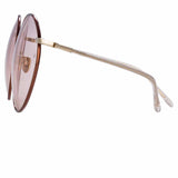 Linda Farrow Zanie C3 Oversized Sunglasses