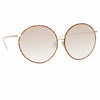 Linda Farrow 891 C5 Oversized Sunglasses