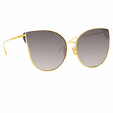 Linda Farrow 895 C4 Cat Eye Sunglasses