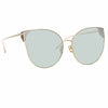 Linda Farrow Flyer C6 Cat Eye Sunglasses