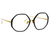 Linda Farrow Alona C10 Oversized Optical Frame