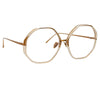 Linda Farrow Alona C12 Oversized Optical Frame