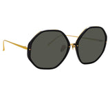 Linda Farrow Alona C1 Oversized Sunglasses