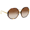 Linda Farrow Alona C2 Oversized Sunglasses