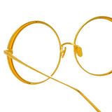 Linda Farrow 933 C1 Round Optical Frame