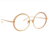 Linda Farrow Hart C3 Round Optical Frame