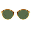 Linda Farrow 935 C5 Oval Sunglasses