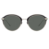 Linda Farrow 935 C6 Oval Sunglasses