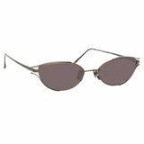 Linda Farrow Violet C5 Cat Eye Sunglasses