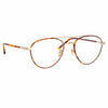 Linda Farrow 954 C12 Aviator Optical Frame