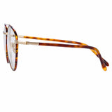 Linda Farrow Brodie C1 Aviator Optical Frame