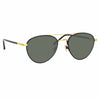 Linda Farrow Brodie C1 Aviator Sunglasses