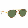 Linda Farrow Brodie C2 Aviator Sunglasses