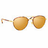 Linda Farrow Brodie C3 Aviator Sunglasses