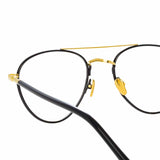 Linda Farrow 954 C8 Aviator Optical Frame