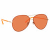 Linda Farrow 963 C10 Aviator Sunglasses